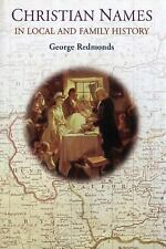Christian Names in Local and Family History (Hardback or Cased Book)