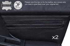 Gris piquer 2X porte avant carte trim covers fits subaru impreza wrx sti 01-04