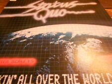 STATUS QUO - ROCKIN' ALL OVER THE WORLD +Beiblatt