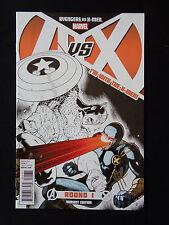 Avengers VS X-Men Round 1 3 5 7 10 Signed Jim Cheug VF+/NM+ High Grade Marvel