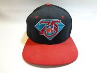 Vintage New Era NFL 75th Anniversary Snapback Hat Cap 90s Football Adult Size
