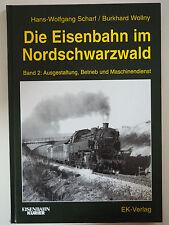 Die Eisenbahn im Nordschwarzwald Band 2 Ausgestaltung Betrieb Scharf EK-Verlag