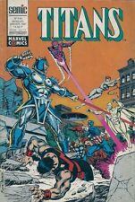 BD--TITANS N° 144--STAN LEE--SEMIC / JANVIER 1991
