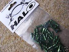 Alloy Spoke Nipples (Bag of 50) Green (NEW!) Halo