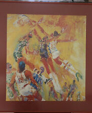 Leroy Neiman 1977 NBA All Star Framed Picture 26x24 February 13, 1977