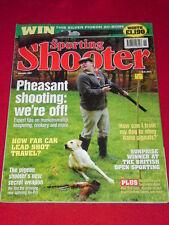 SPORTING SHOOTER - LEAD SHOT - Nov 2007 # 49