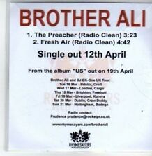 (BT348) Brother Ali, The Preacher - DJ CD