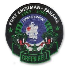 Jungle Expert Patch - Green Hell - Panama- US Army - Army Ranger Infantry - JOTC