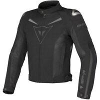 Dainese Men's Super Speed Textile Motorcycle Jacket Black Dark Grey Size 52 EU