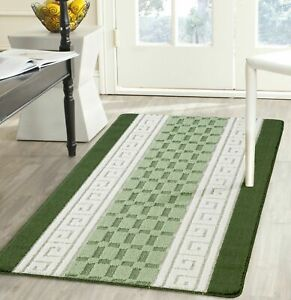 New Long Short Rubber Back Washable Hall Hallway Non Slip Runner Rug Small Mat