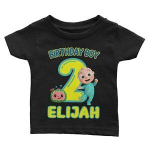 Personalize Cocomelon Birthday Shirt