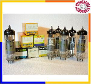 Vintage ECL86 tube (6GW8) Philips, Mazda, Miniwatt, New, NOS, NIB, 1 pcs TESTED