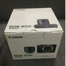 Open Box Canon EOS M100 24.2 MP Digital SLR Camera - Black (Body Only)