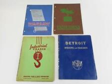 4 Vtg 1950s Industrial Equipment Catalogs Hoists Monorails Lifts Cranes Detroit