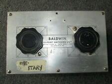 Baldwin Hamilton 20 Channel Switching Unit # No 93323-2 April 7, 1950