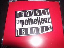 The Potbelleez Trouble Australian CD Single – Like New