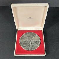 Vintage 1960 commemorative medallion Pioneer V First Long Range Communications Satellite
