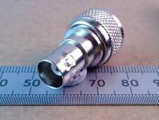 PL259 UHF CB Radio Plug to BNC Socket Adapter, 50 Ohm Coaxial