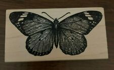 100 Proof Press Monarch Butterfly Rubber Stamp Cardmaking