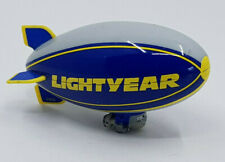 Disney Pixar Cars Toon Lightyear Blimp Zeppelin Die Cast 1:55 Mattel