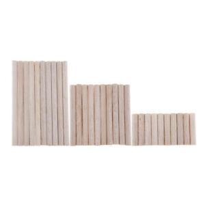 30 Stück Balsaholz Unfertiges Holz Rund