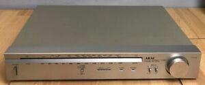 Vintage Akai AT-K11L FM AM Stereo Tuner W/ Operators Manual