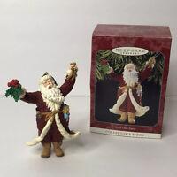 Hallmark Keepsake 1998 Merry Olde Santa Ornament Collectible Outreaches Arms