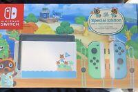 (No Joycons) Nintendo Switch Animal Crossing New Horizons Edition
