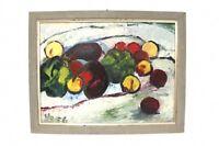 Impressionist Früchte Stillleben  -B7