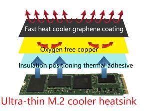 M.2 M2 NVME 970EVO P760P 970pro SSD ultra-thin graphene cooler film heatsink