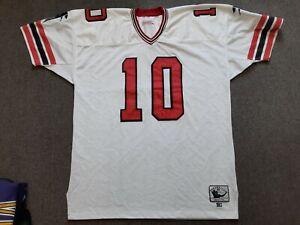 VTG Mitchell & Ness 1983 NFL Atlanta Falcons #10 Steve Bartkowski Jersey 58 4XL