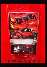 2018 Hot Wheels Datsun 240z RLC Exclusive In Red Limited 6500 50th Anniversary