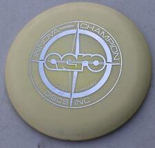 Vintage Rare Cream Silver Champion Disc Golf Innova Proto Star Champ Stamp Aero