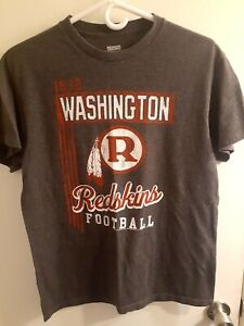 Washington Redskins Junk Food Short Sleeve T-Shirt Medium