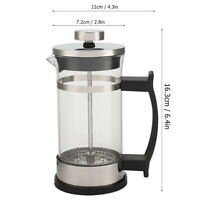 Stainless Steel Glass Coffee Pot French Press Filter Pot Practical Tea Maker