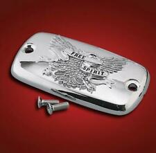 Show Chrome Free Spirit Master Cylinder Cover 2-447A