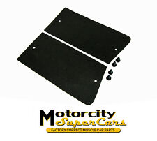 68-69-70-71-72 Cutlass 442 W-30 2-3 row radiator side seals without a/c