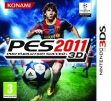 Nintendo 3ds Game Pro Evolution Soccer 2011 PES 11 UK Boxed