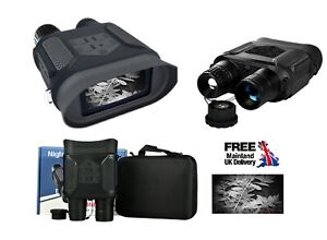 "Genuine Infrared Digital Binocular Night Vision for Hunting 2"" LCD Video 400M UK"