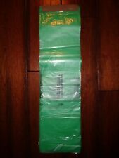 100 Pack Newspaper Bags 55 X 19 04 Mil Green Purple Yellow Or Clear Bags