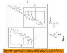 NISSAN OEM 13-18 Versa Drive Axles-Front-Axle Seal 383423VX0A