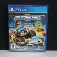 Micro Machines World Series - Sony PS4 PlayStation 4 Racing Game - New & Sealed