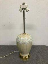 Tischlampe Lampe Vintage Ginko Kermik Lampenfuß 60er 70er 50er Hollywood Regency