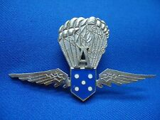 PORTUGAL MOCIDADE WWII FACIST YOUTH PARACHUTE A PARAMILITARY UNIT BREAST BADGE