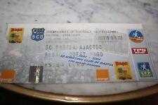 TICKET )) BASTIA V AJACCIO )) DERBY saison 2004/2005