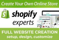 I Will Professionally Design A Custom 7-Figure Shopify Or Dropshipping store
