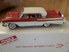 Danbury Mint 1957 Mercury Turnpike Cruiser 1:24 Diecast in Box