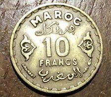 PIECE DE 10 FRANCS MAROC 1371 (127)