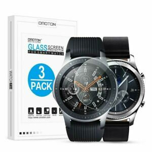 Tempered Glass Screen Protector Compatible Samsung Gear S3/ Galaxy Watch 46mm
