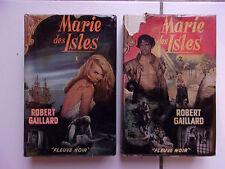 lot Robert GAILLARD Marie des ISLES 1 et 2 avec couvertures Gourdon (grands form